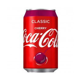 (CANS) CHERRY COKE (ST) 24X330ML