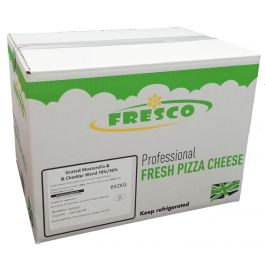 FFS 80/20 MOZZARLA /CHEDDAR (SHREDDED) (Y/T) 6X2KG