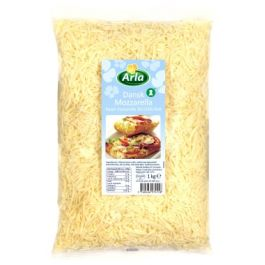 (SHREDDED) ARLA MOZZARELLA 100% 6X2KG (THIN CUT)