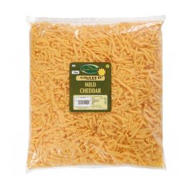 (PACK) GRATED RED CHEDDAR 2KG