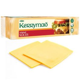 KERRYMAID BURGER CHEESE SLICES 112