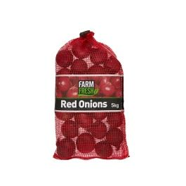 RED ONION 10KG SACK