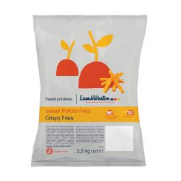 LWF20 SWEET POTATO CRISPY FRIES CHIPS  4X2.5KG