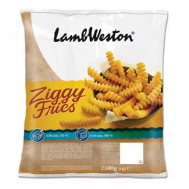 LWF61 ZIGGY FRIES (CRINCKLE CHIPS)  9X9 4X2.25KG
