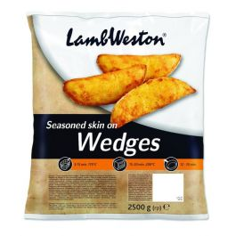LW01 SEASONED POTATO WEDGES 4X2.5KG
