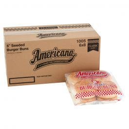 "(1005) 5"" AMERICAN SEEDED BUNS 48PCS"