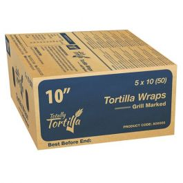 "10""  TT GM TORTILLA WRAPS (BLUE BOX) 50PCS"