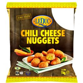 (LEDUC) CHILLI CHEESE NUGGETS  6X1 KG