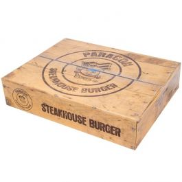 STEAKHOUSE 4OZ BEEF BURGERS (HALAL)  48X113G