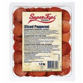 SUPERTOPS PEPPERONI SLICE 1KG