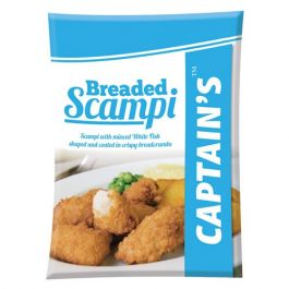 BREADED WHOLETAIL SCAMPI X 450G