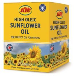 KTC HIGH OLEIC SUNFLOWER OIL (BIB)- 20LTR