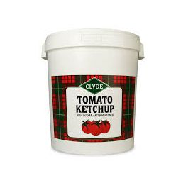 CLYDE TOMATO KETCHUP (BUCKET) 20KG