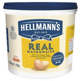HELLMANNS REAL MAYONNAISE 10 LTRS