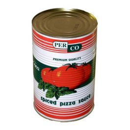 PERCO SPICED PIZZA SAUCE TINS 3X3KG