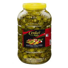 SLICED JALAPENO PEPPERS GREEN 3KG