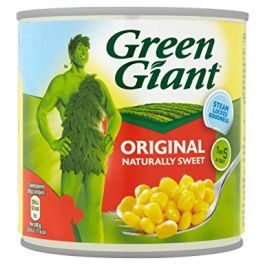 GREEN GIANT SWEETCORN 12X340G