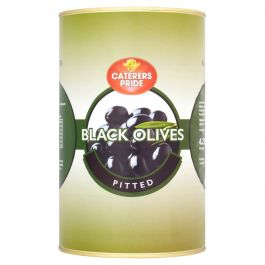 PITTED BLACK OLIVES 5KG
