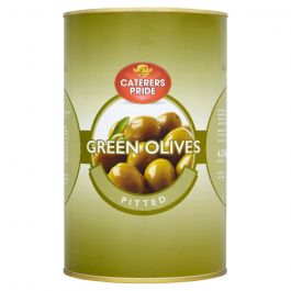 PITTED GREEN OLIVES 5KG