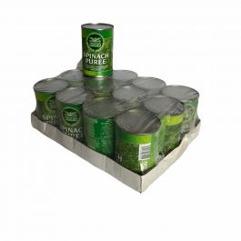 SPINACH PURRE 12X340G