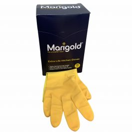 MARIGOLD YELLOW GLOVES 6PCS